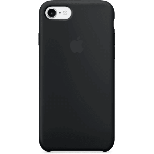 Silicon Case Apple iPhone 5/5S/SE чёрный