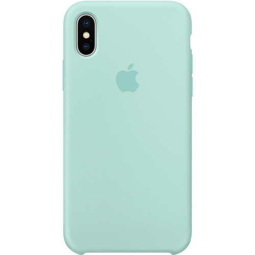 Silicon Case Apple iPhone XS Max голубой берилл
