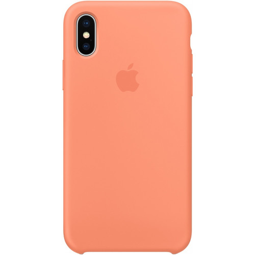 Silicon Case Apple iPhone XS Max спелый клементин