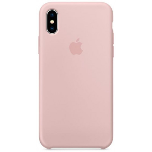 Silicon Case Apple iPhone XS Max розовый песок