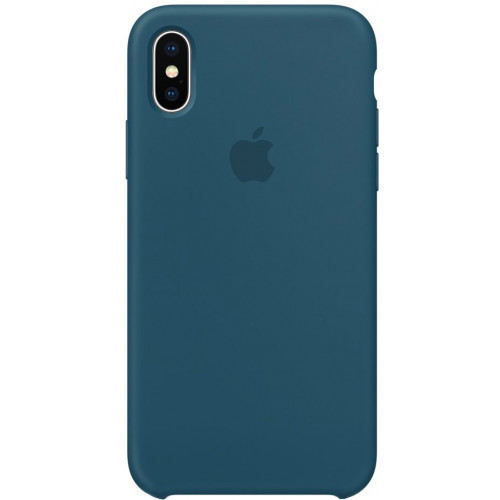 Silicon Case Apple iPhone XS Max морской лёд