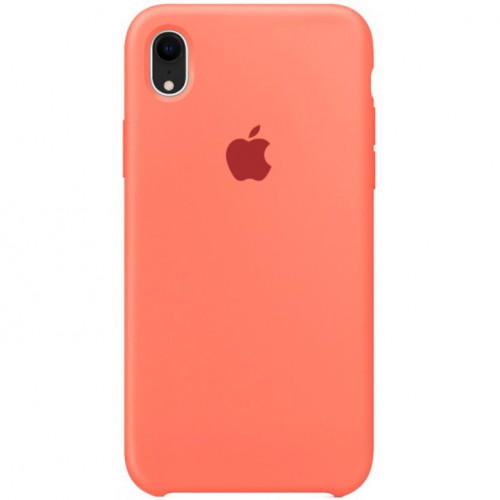 Silicon Case Apple iPhone XR спелый клементин